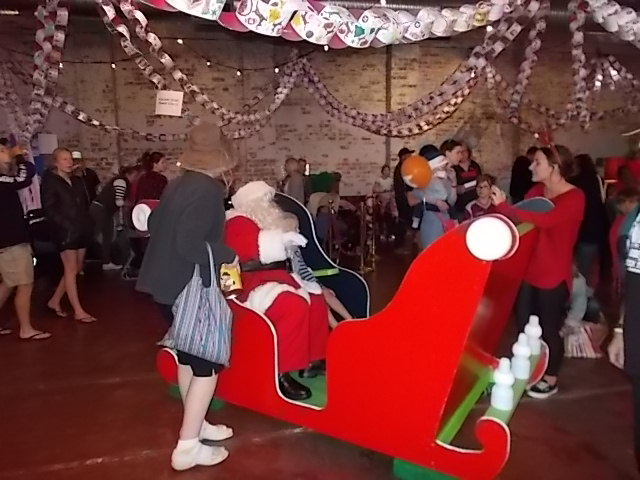 Santas Sleigh in Action