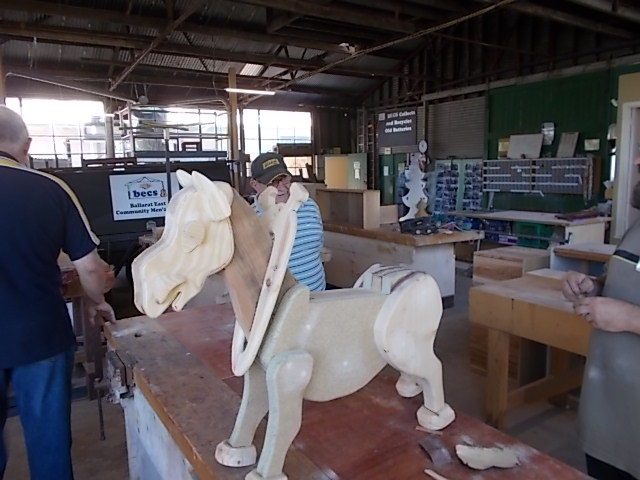 Rocking Horse in the Making 1