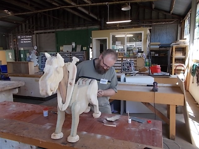 Rocking Horse in the Making 2